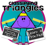 Distance Learning Classifying Triangles by angles and side