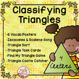 Classifying Triangles Activities