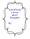 Classifying Triangles Book