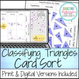 Classifying Triangles Card Sort