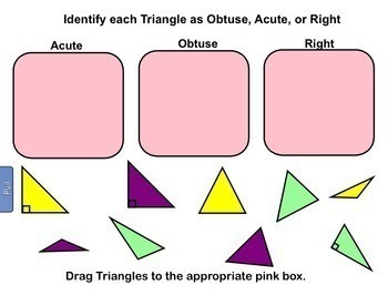Classifying Triangles Classify Triangles Smartboard Lesson Triangle
