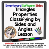 Classifying Triangles Classify Triangles by Sides and Angles Smartboard Lesson