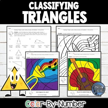 Classifying Triangles - Color by Number