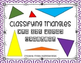 Classifying Triangles Cut and Paste Activity