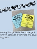 Classifying Triangles- Flip Book