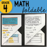 Math Doodle - Classifying Triangles ~ INB Foldable Notes ~