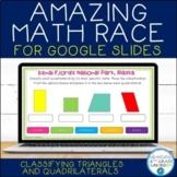 Classifying Triangles & Quadrilaterals Review | Google Sli