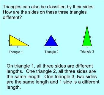 Classifying Triangles SMARTnotebook