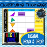 Classifying Triangles by Sides and Angles Digital Drag and