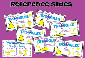 Classifying Triangles by Their Sides & Angles GOOGLE CLASSROOM