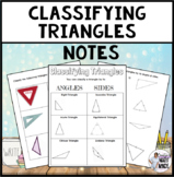 Classifying Triangles notes