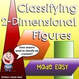 Classify Two-Dimensional Figures (Mini Bundle)