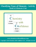 Classifying Types of Elements Activity