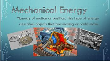 Classifying Types of Energy