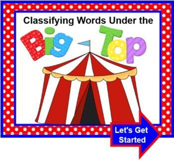 Classifying Words Under The Big Top