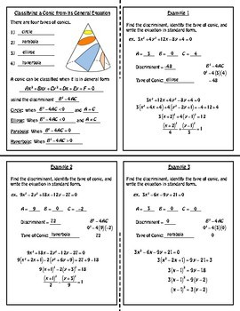 Classifying a Conic Foldable