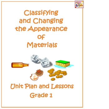 Classifying and Changing the Appearance of Materials Science Unit Plan