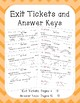 Classifying and Drawing Angles for Fourth Grade: Exit Tickets, Practice & More