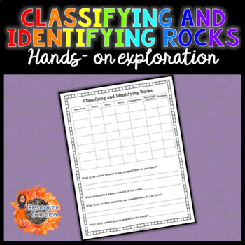 Classifying and Identifying Rocks and Minerals