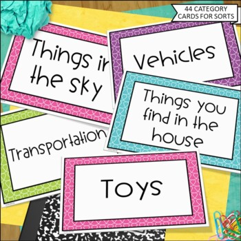 Classifying and Sorting Common Nouns Gr. K-2
