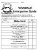 Polynomials No Prep Lesson