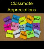 Classmate Appreciations