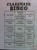 Classmate Bingo