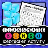 Classmate Bingo - Icebreaker Activity (EDITABLE)