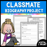 Classmate Biography Writing Mini Unit