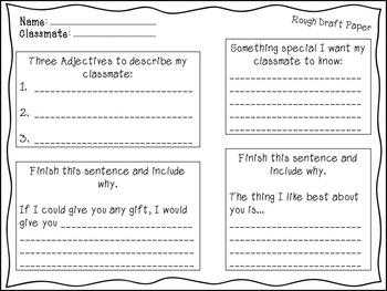 Classmate Encouragement Card