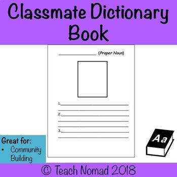 Classmate Dictionary (Community Building)