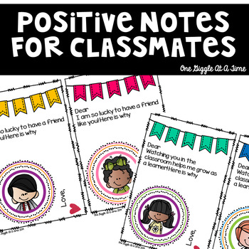 Classmate Love Notes (Notes Of Inspiration For Students To Share)