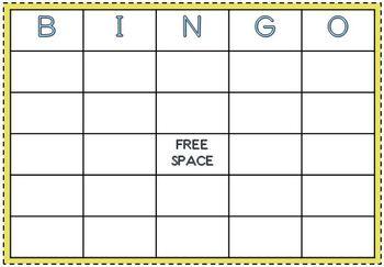 Classmate Name Bingo