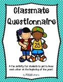 Classmate Questionnaire