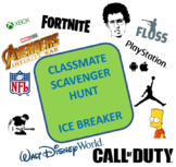 Classmate Scavenger Hunt - First day Ice Breakers - Feat.