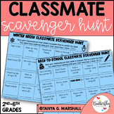 Back to School Get to Know You | Classmate Scavenger Hunt