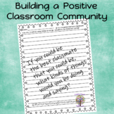 Classmates:  What kinds of things do we do and say? (Writi