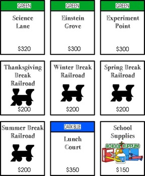 Classopoly Reward System: Gamilfy Your Classroom with a Complete Currency Kit