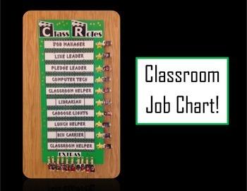Classr Roles Job Chart