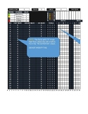 Classroll Spreadsheet Complete Version