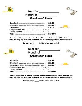 Classrom Economy Rent