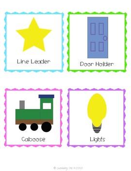 Classroom Jobs Set - Brights