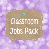 Classroom Jobs Set - Brights