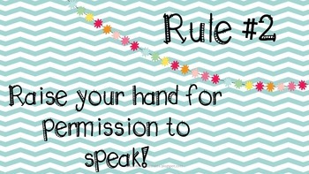 Classrom Rules