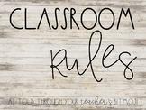 Classrom Rules using Bitmojis