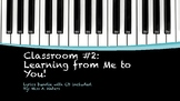 Classroom #2: Learning from Me to You! Lyrics Bundle