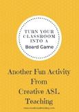 Classroom ASL Board Game - Large Board Game