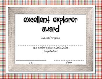 Classroom Academic Awards Bundle