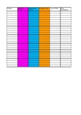 Classroom Accommodations Tracker