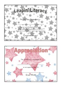 Classroom Achievement Awards